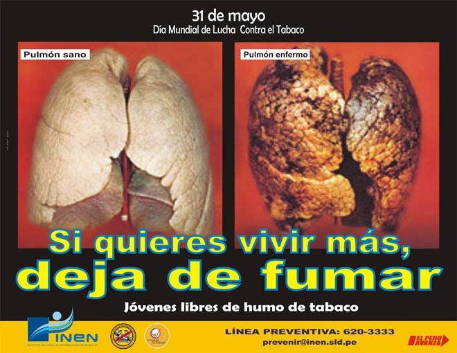 31 de Mayo: Día Mundial sin  tabaco-http://www.inen.sld.pe/portal/images/stories/AFICHES/2008/DIA_MUNDIAL_SIN_TABACO/AFICHE%20TABACO%205.jpg